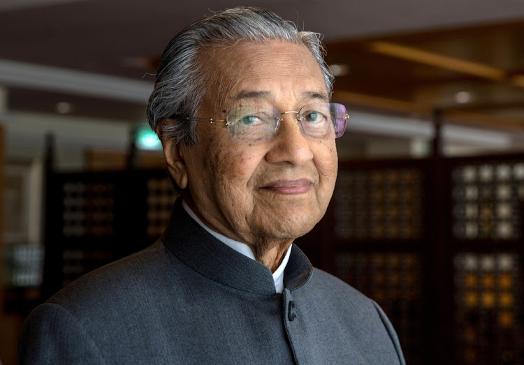Mahathir Mohamad, Malaysia's former prime minister. Picture: GETTY IMAGES