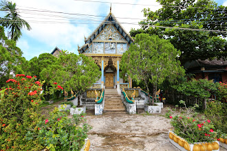 Photo: Laos Reisen, Tempel Kong Island