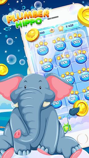 Bathe Hippo - Connect Pipes apkdebit screenshots 7