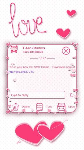 Pink Love SMS