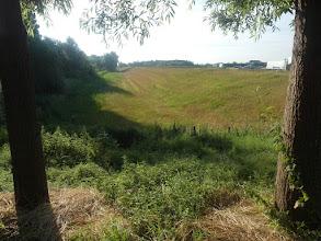 Photo: Verstevigde dijk tussen Klein Profijt en Goidschalxoord