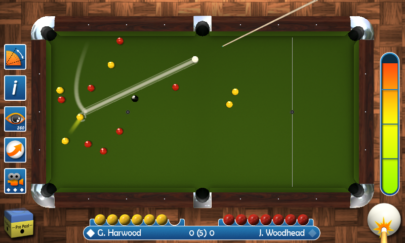 Pro Pool 2018 Screenshot 2