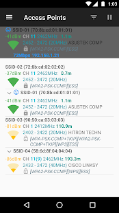 App WiFiAnalyzer (open-source) APK for Windows Phone