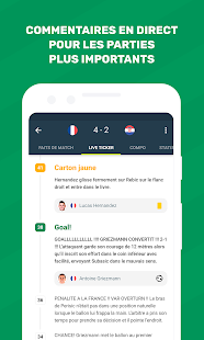 FotMob - Foot en direct Capture d'écran