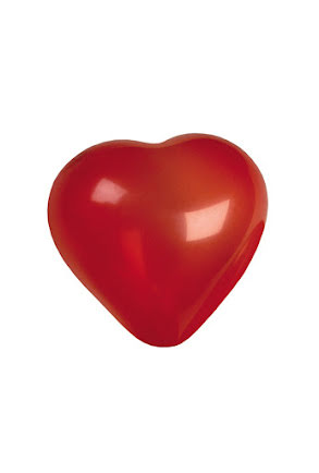 Hjärtballonger, 6 st