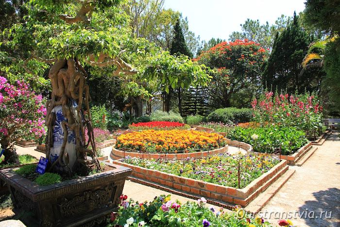 Монастырские сады Чук Лама