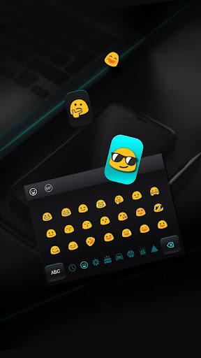 Simple Black Keyboard screenshots 2