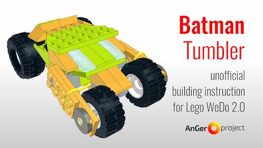 Batman Tumbler Lego Wedo 2 Unofficial Instruction Apk Download