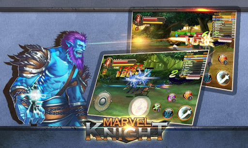 MARVEL knight-Nonstop Fighting  screenshots 2