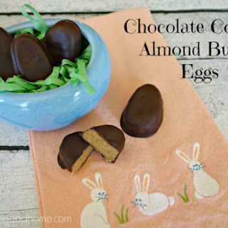 Chocolate Covered Almond Butter Eggs