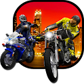 Motor Bike Death Racer: Attack icon