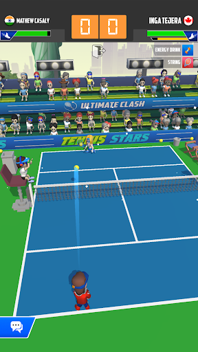 Tennis Stars: Ultimate Clash mod apk Varies with device screenshots 4