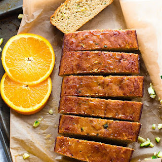 Zesty Orange Cream Paleo Zucchini Bread