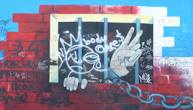 "Photo: East Side Gallery; Salvadore de Fazio ""Dawn of Peace"""