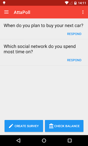 AttaPoll - Paid Surveys by AttaPoll (Google Play, United States
