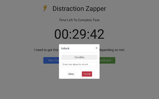 Distraction Zapper