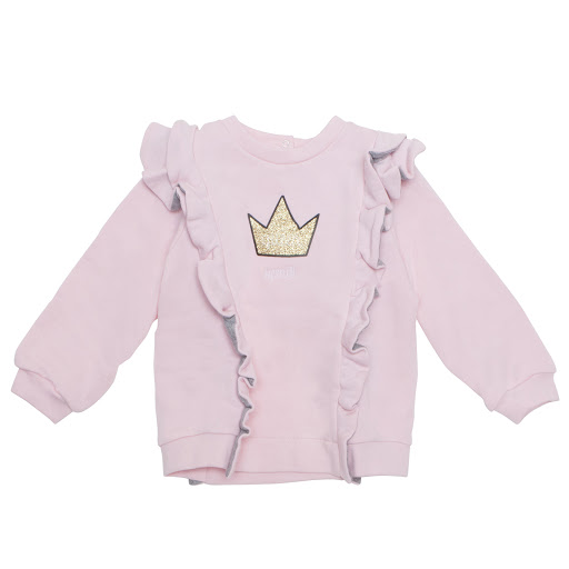 Primary image of Fendi Baby Queen Ruffle Sweatshirt
