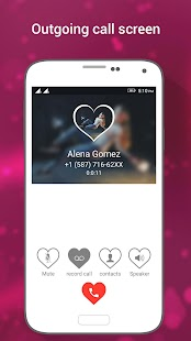 HD Phone 7 Love Caller Screen - náhled