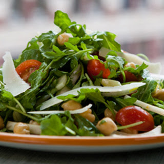 Wild Arugula and Chickpea Salad Recipe
