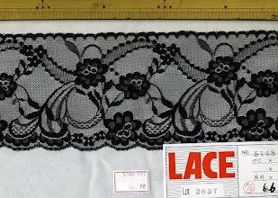 Photo: №5148-997ラッセル黒:巾95mm (廃盤)