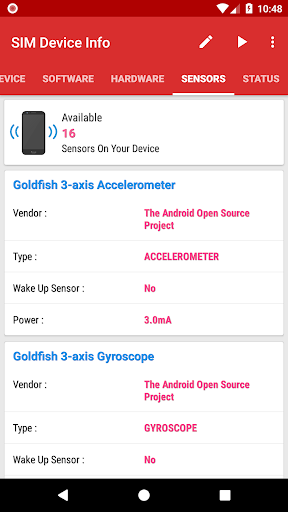 SIM Device Info 6.0 screenshots 7
