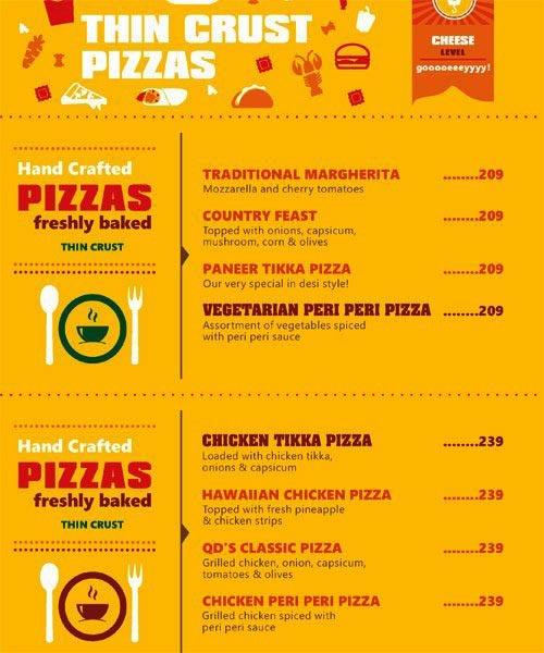 QD's Restaurant menu 7
