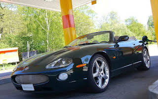 Jaguar XK-R Rent Halland
