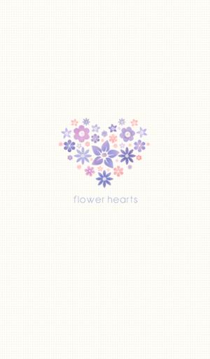 flower hearts 카카오톡 테마
