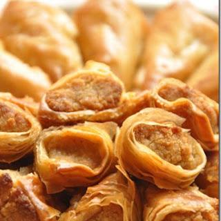 Honey Glazed Sweet Filo Parcels.