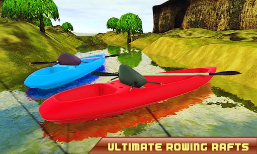 River Crossing Boat Ride – Jungle Kayak Diving Sim - náhled