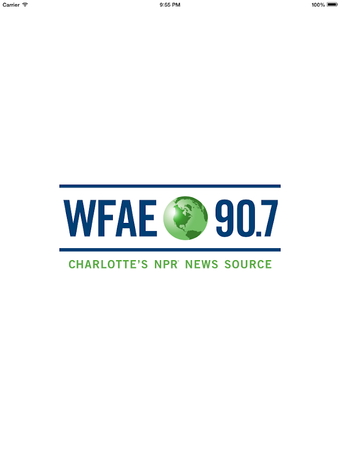 WFAE Public Radio App- screenshot