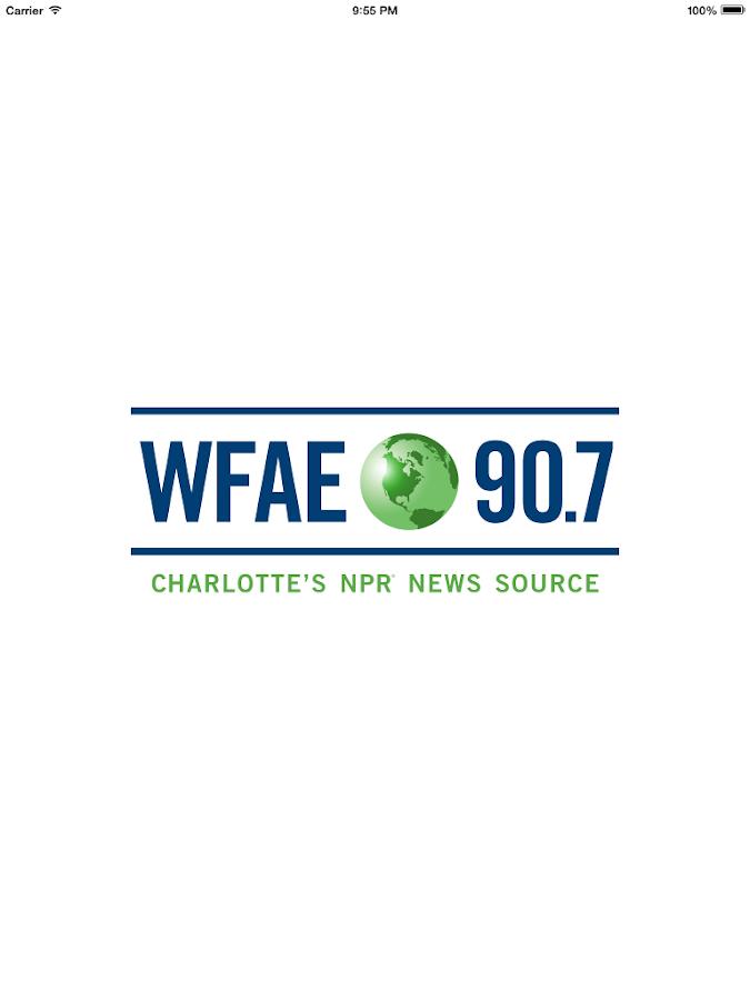 WFAE Public Radio App - screenshot