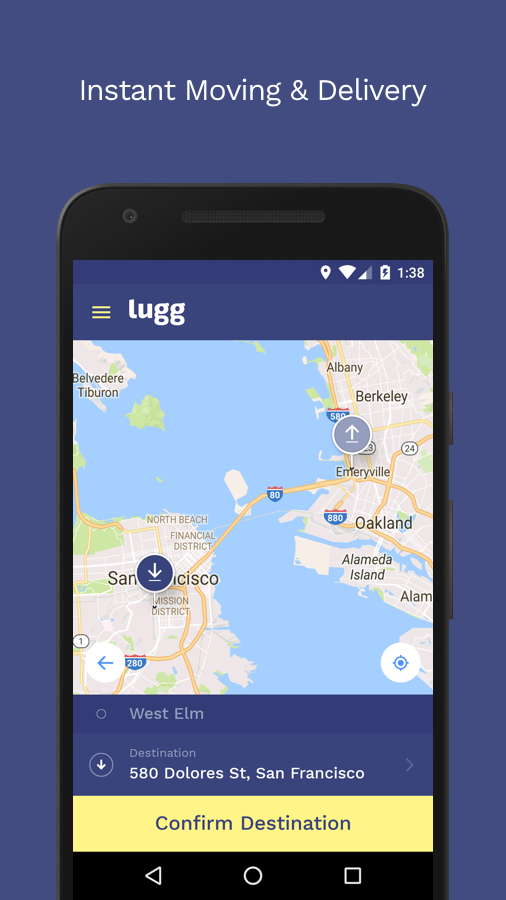 Lugg: Moving & Delivery- screenshot