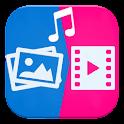 تحويل صور الى فيديو و بالأغاني icon