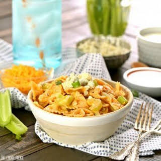 Buffalo Chicken Pasta Salad.