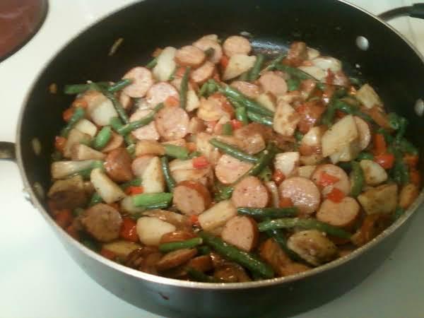 Rosemary Butter Potato & Sausage Skillet (ww) Recipe