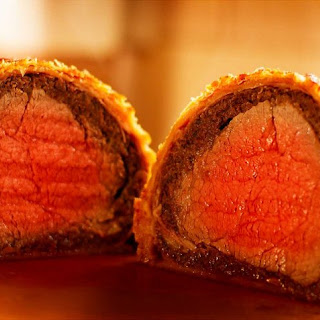 Beef Wellington.