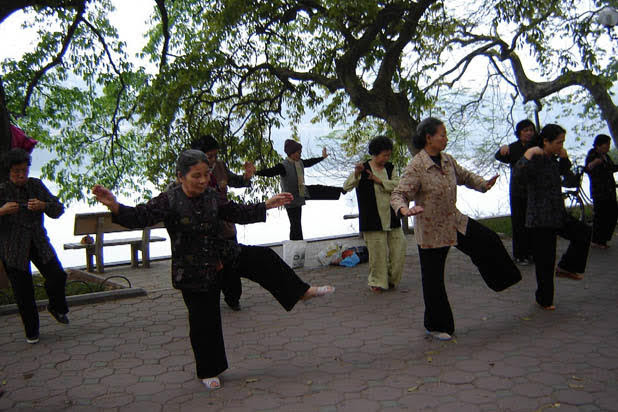 Cours de Tai Chi à Hanoi