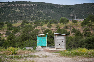 Photo: School out houses