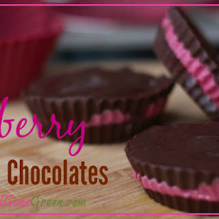 Raspberry filled Chocolates