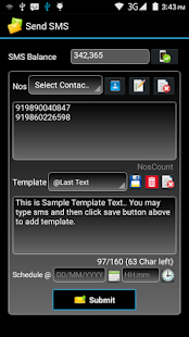 Bulk SMS- screenshot thumbnail