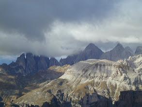 Photo: Blick von der Piscaduspitze zu den Geislerspitzen