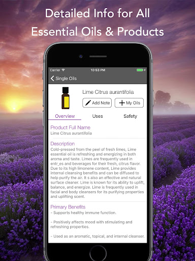 Download Essential Oils Reference Guide for doTERRA MOD APK 6