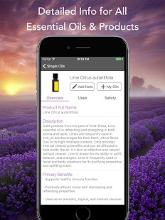 Essential Oils Reference Guide for doTERRA Screenshot