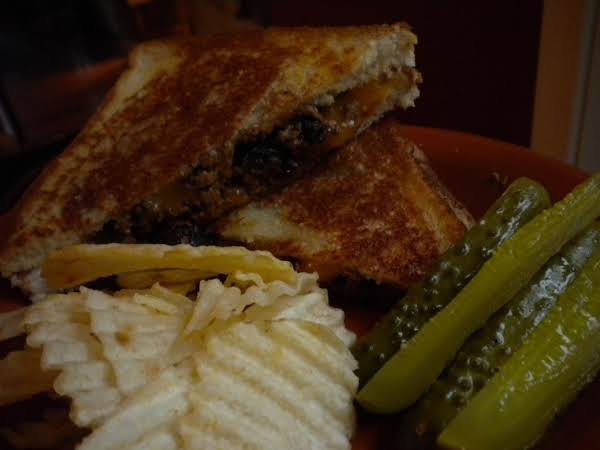 Meatloaf & Colby Grilled Cheese
