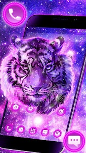 Galaxy Tiger Theme - náhled