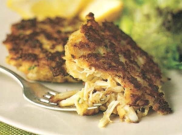 Crab Cakes With Scallions And Jalapenos