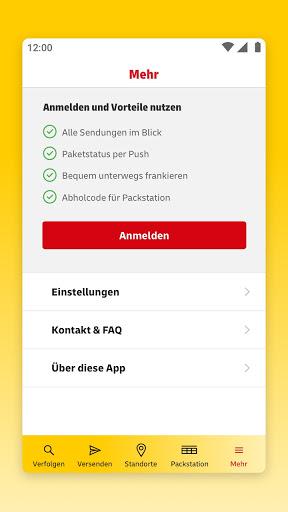 DHL Paket  screenshots 8