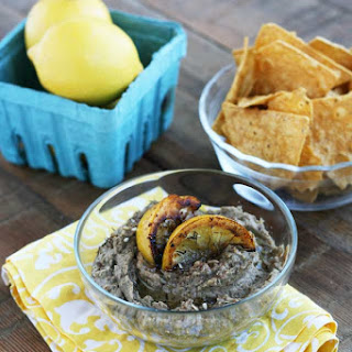 Lentil Dip With Fried Lemons