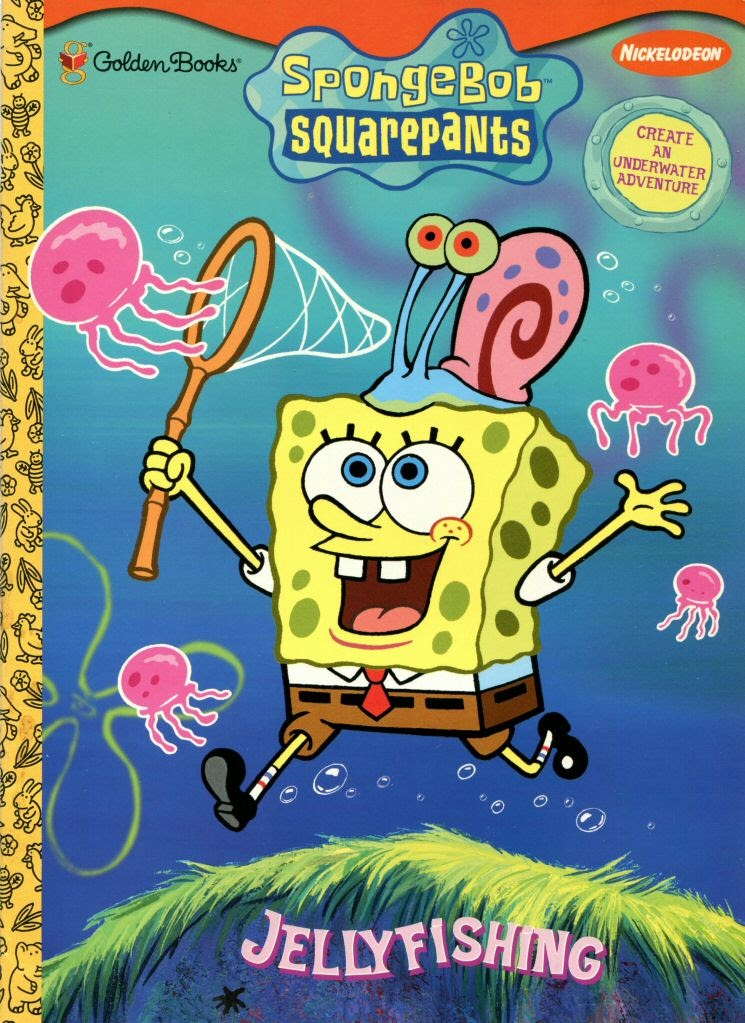 - Coloring Book Activity Book:SpongeBob SquarePants Jellyfishing - Golden  Books — Google Arts & Culture